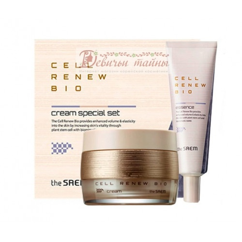 The Saem Набор уходовый антивозрастной Cell Renew Bio Cream Special Set N2
