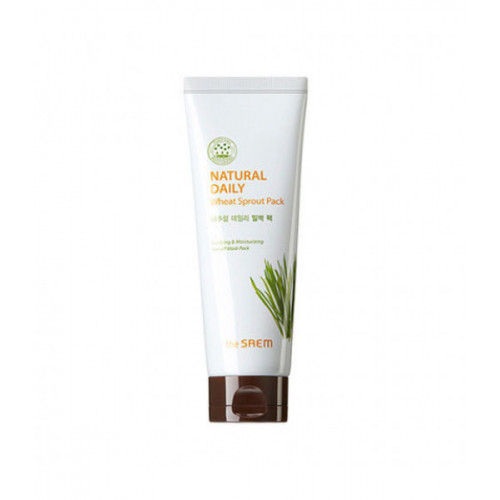 The Saem Маска для лица пшеничная Natural Daily Wheat Sprout Pack