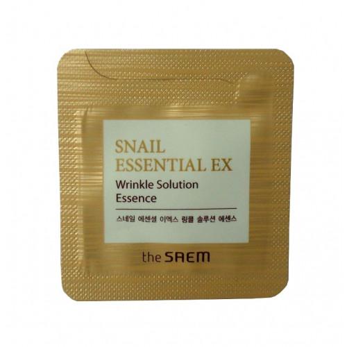 The Saem Эссенция антивозрастная Snail Essential EX Wrinkle Solution Essence (пробник)