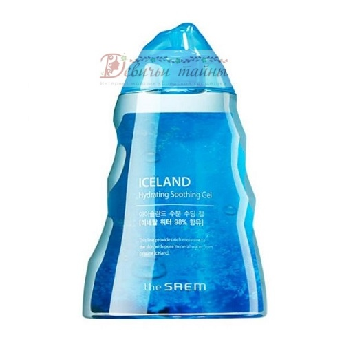 The Saem Гель для тела минеральный Iceland Hydrating Soothing Gel