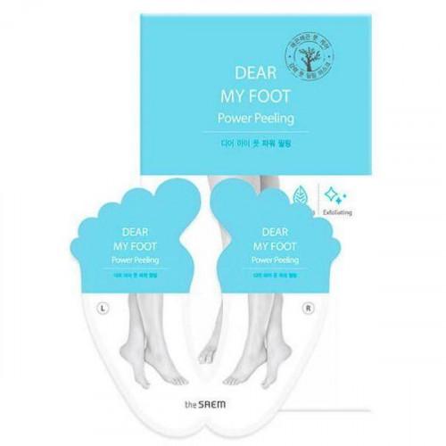 The saem пилинг для ног dear my foot power peeling