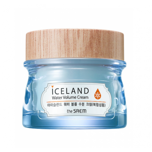 The Saem Крем минеральный Iceland Water Volume Hydrating Cream