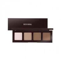 The saem палетка для контурного макияжа eco soul contour palette