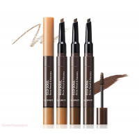 The Saem Тушь - карандаш для бровей Eco Soul Brow Pencil & Mascara