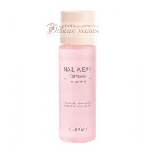 The Saem Жидкость для снятия лака Nail Wear Remover