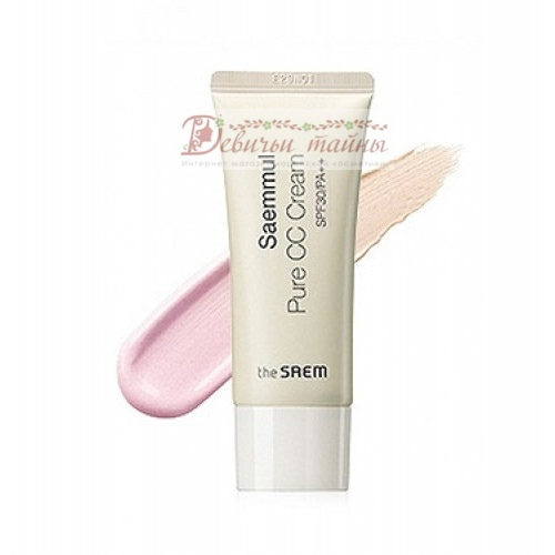 The Saem Крем СС Saemmul Pure CC Cream SPF30 PA++