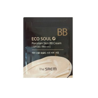 The Saem Крем ББ Eco Soul Porcelain Skin BB Cream (пробник)
