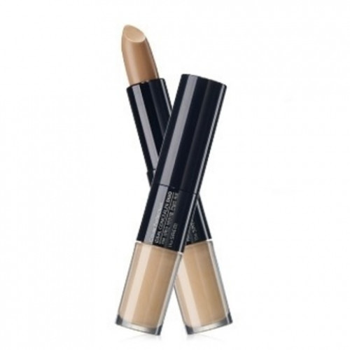 The saem консиллер двойной cover perfection ideal concealer duo