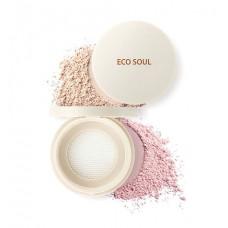 The Saem Пудра рассыпчатая Eco Soul Bounce Powder