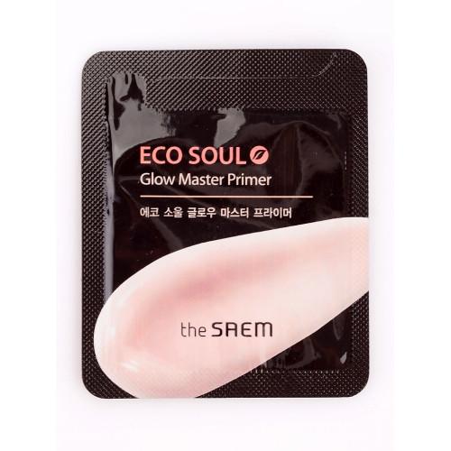 The Saem Праймер для яркости кожи Eco Soul Glow Master Primer (пробник)