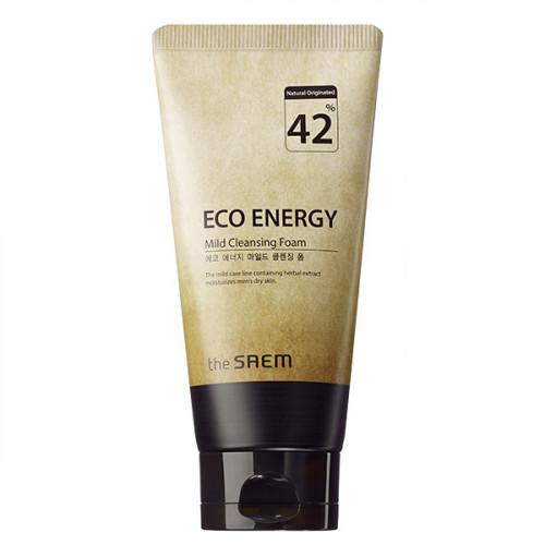 The saem пенка для умывания мужская eco energy mild cleansing foam
