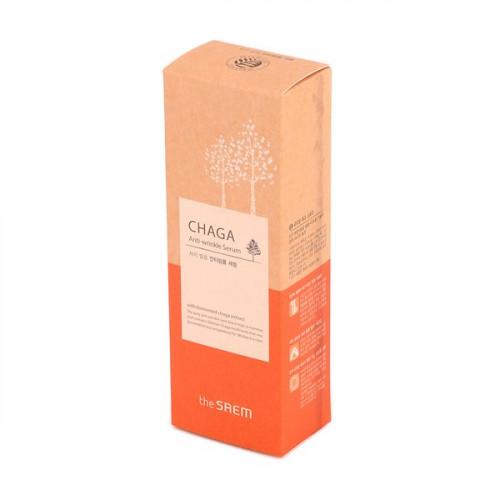 The Saem Сыворотка обогащенная с экстрактом чаги Chaga Anti-Wrinkle Serum