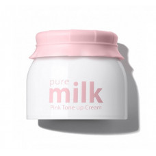 The Saem Крем осветляющий Pure Milk Pink Tone Up Cream