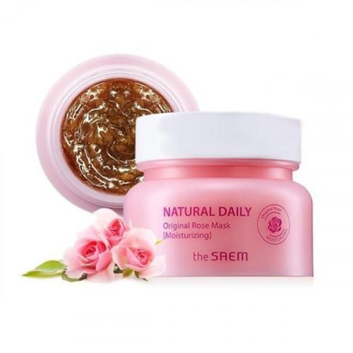 The Saem Маска для лица с лепестками роз Natural Daily Original Rose Mask