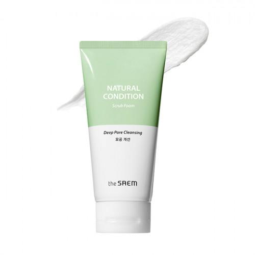 The Saem Пенка-скраб для лица Natural Condition Scrub Foam