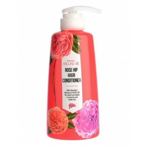 Welcos Кондиционер для волос Around me Rose Hip Hair Conditioner