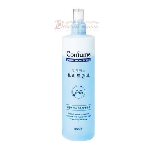 Welcos спрей для волос двухфазный Confume Two-Phase Treatment