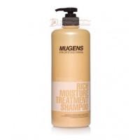 Welcos Шампунь для волос Mugens Rich Moisture Treatment Shampoo