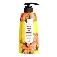 Welcos Шампунь для поврежденных волос Around Me Argan Hair Shampoo