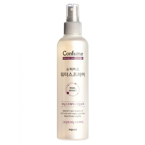 Welcos Спрей для волос фиксирующий увлажняющий Confume Super Hard Water Spray