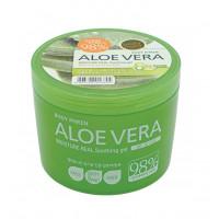Welcos Гель для лица и тела успокаивающий Aloe vera Moisture Real Soothing Gel