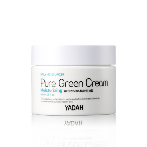 Yadah крем для лица увлажняющий pure green moisturizing cream
