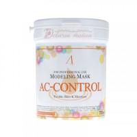Anskin Маска альгинатная для проблемной кожи против акне AC Control Modeling Mask /container