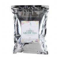 Anskin Маска альгинатная с зеленым чаем Grean Tea Modeling Mask 1kg