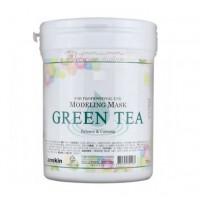 Anskin Маска альгинатная с зеленым чаем Grean Tea Modeling Mask /container