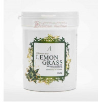 Anskin Маска альгинатная для проблемной кожи Herb Lemongrass Modeling Mask / container