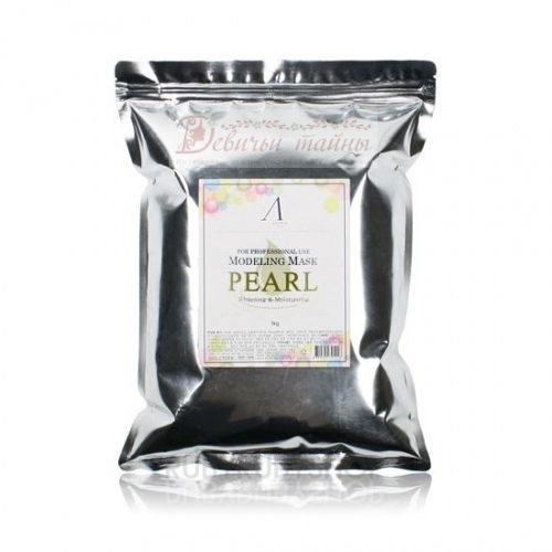 Anskin Маска альгинатная экстрактом жемчуга Pearl Modeling Mask 1 kg