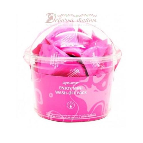 Ayoume Маска для лица успокаивающая Enjoy Mini Wash-Off Pack