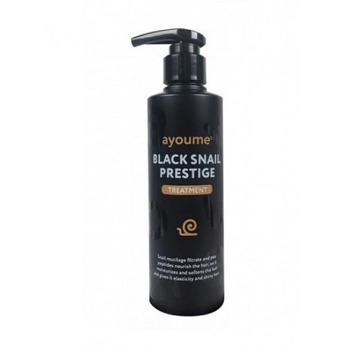 Ayoume Бальзам для волос с муцином улитки Black Snail Prestige Treatment