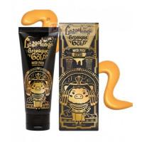 Elizavecca Маска-пленка очищающая золотая Hell-Pore Longolongo Gronique Gold Mask Pack