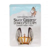 Elizavecca Маска тканевая с паровым кремом Silky Creamy Donkey Steam Cream Mask Pack