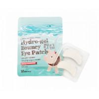 Elizavecca Набор масок-патчей для кожи вокруг глаз Milky Piggy Hydro-gel Bouncy Eye Patch 20 штук