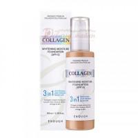 Enough Тональная основа с коллагеном 3 в 1 Enough 3in1 Collagen Foundation