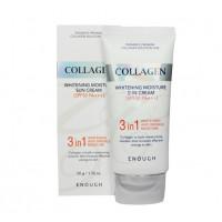 Enough Крем солнцезащитный Enough 3 in 1 Collagen Sun Cream