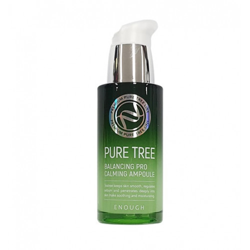 Enough Сыворотка с чайным деревом Pure Tree Balancing Pro Calming Ampoule