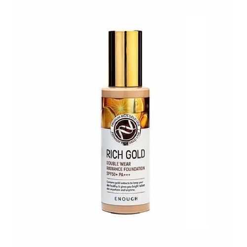 Enough Тональная основа с золотом Rich Gold Double Wear Radiance Foundation