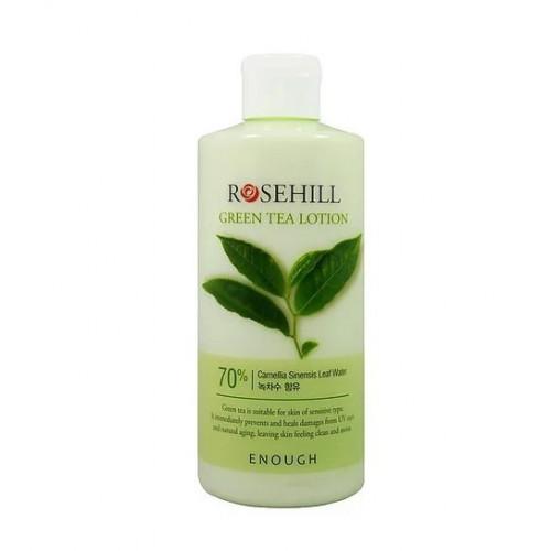 Enough Тонер с экстрактом зеленого чая RoseHill Green Tea Skin