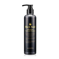 Secret key шампунь улиточный black snail all in one treatment shampoo