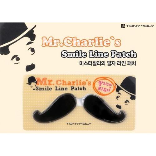 Tony Moly Патчи для носогубной области Mr. Smile Patch