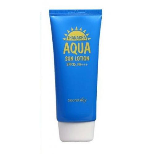 Secret Key Лосьон солнцезащитный увлажняющий Thanakha Aqua Sun Lotion SPF35 PA+++