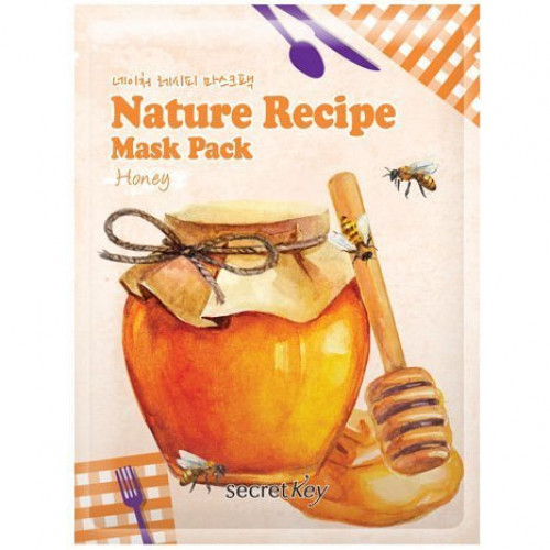 Secret key маска тканевая nature recipe mask pack