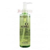 Secret Key Средство для снятия ББ и СС макияжа CC Bubble All in One Cleanser