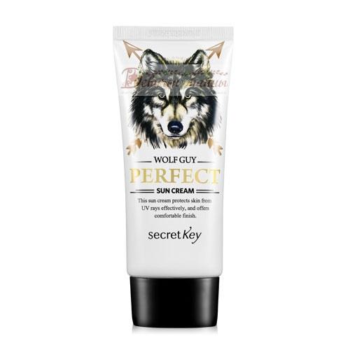 Secret Key Крем солнцезащитный для мужчин Wolf Guy Perfect Sun Cream
